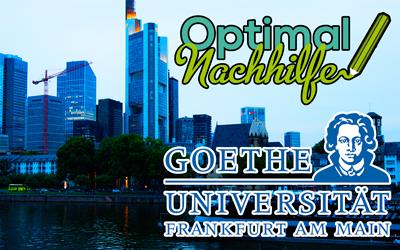 American Studies Nachhilfe an der Goethe-Universität Frankfurt