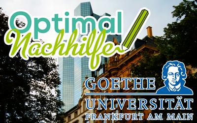 BWL Nachhilfe an der Goethe-Universität Frankfurt