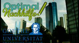 Germanistik Nachhilfe an der Goethe-Universität Frankfurt